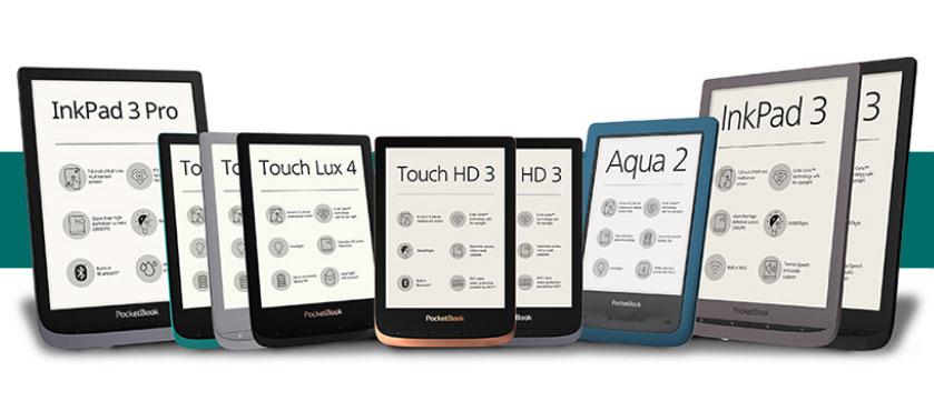Czytniki PocketBook obsługujące send-to PocketBook