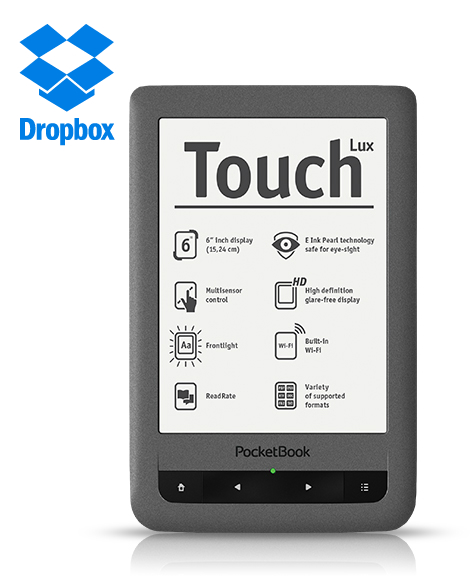 PocketBook Touch Lux Dropbox Send-to-PocketBook