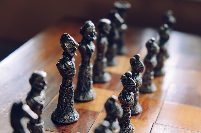 gra o tron rycerze pionki szachy