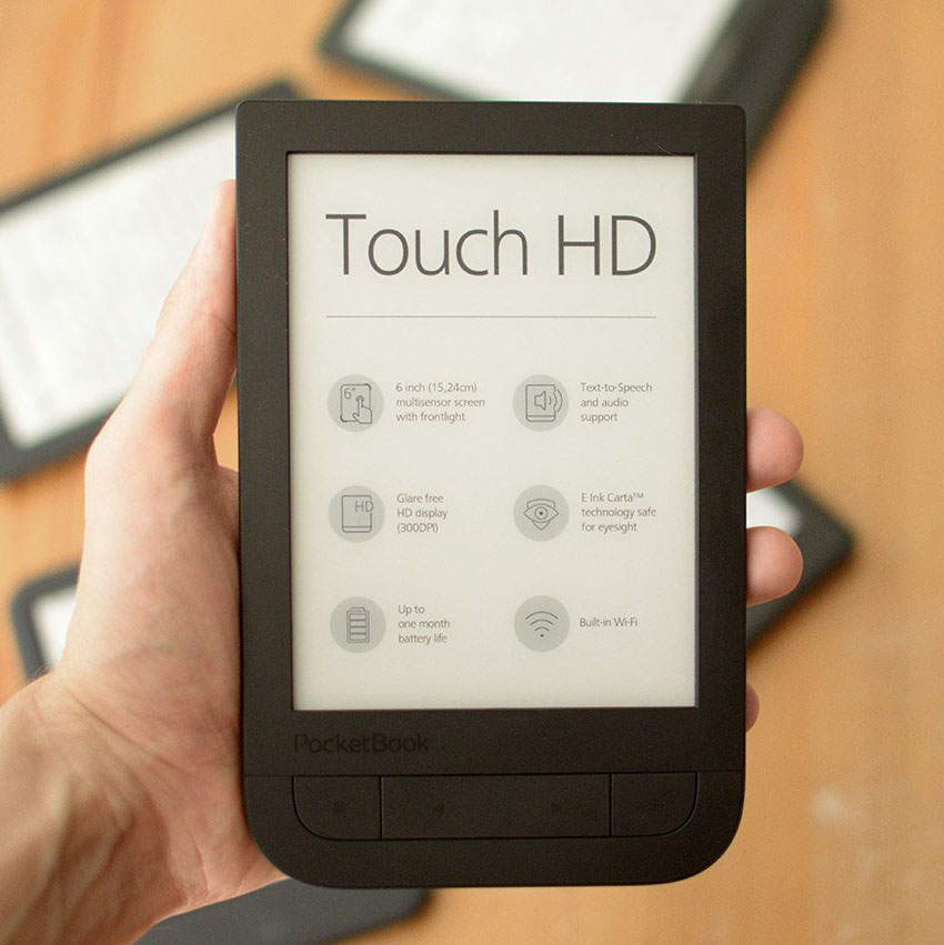 Pocketbook 631 Touch HD przód