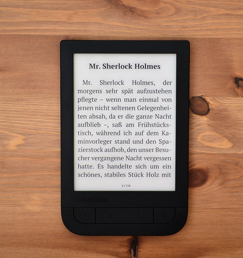 Pocketbook 631 Touch HD ekran