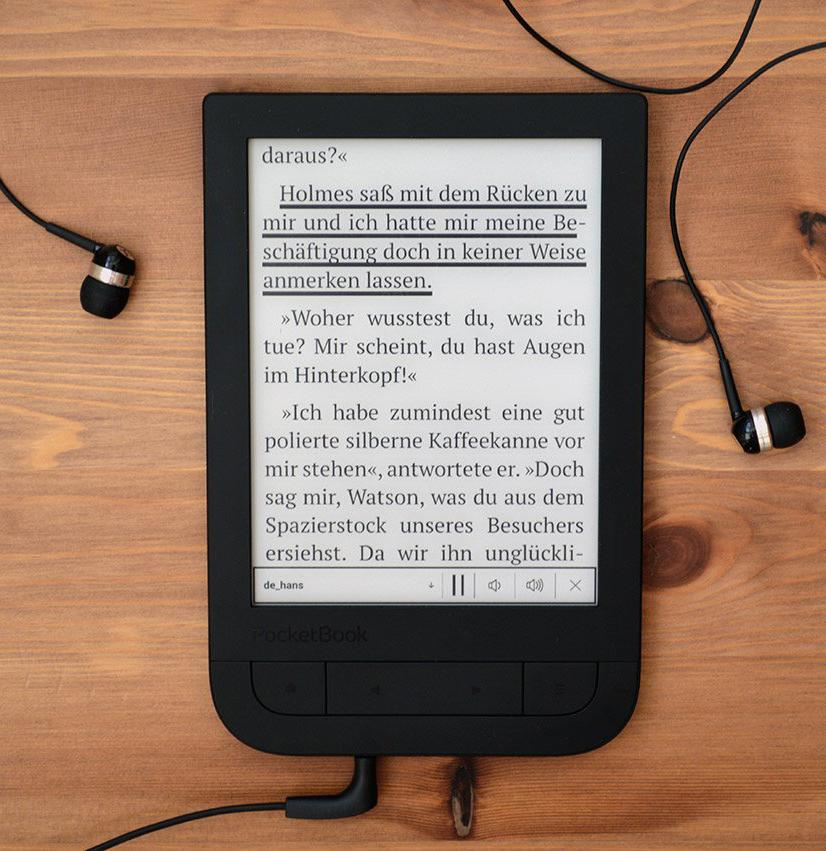 Pocketbook 631 Touch HD podkreślenie