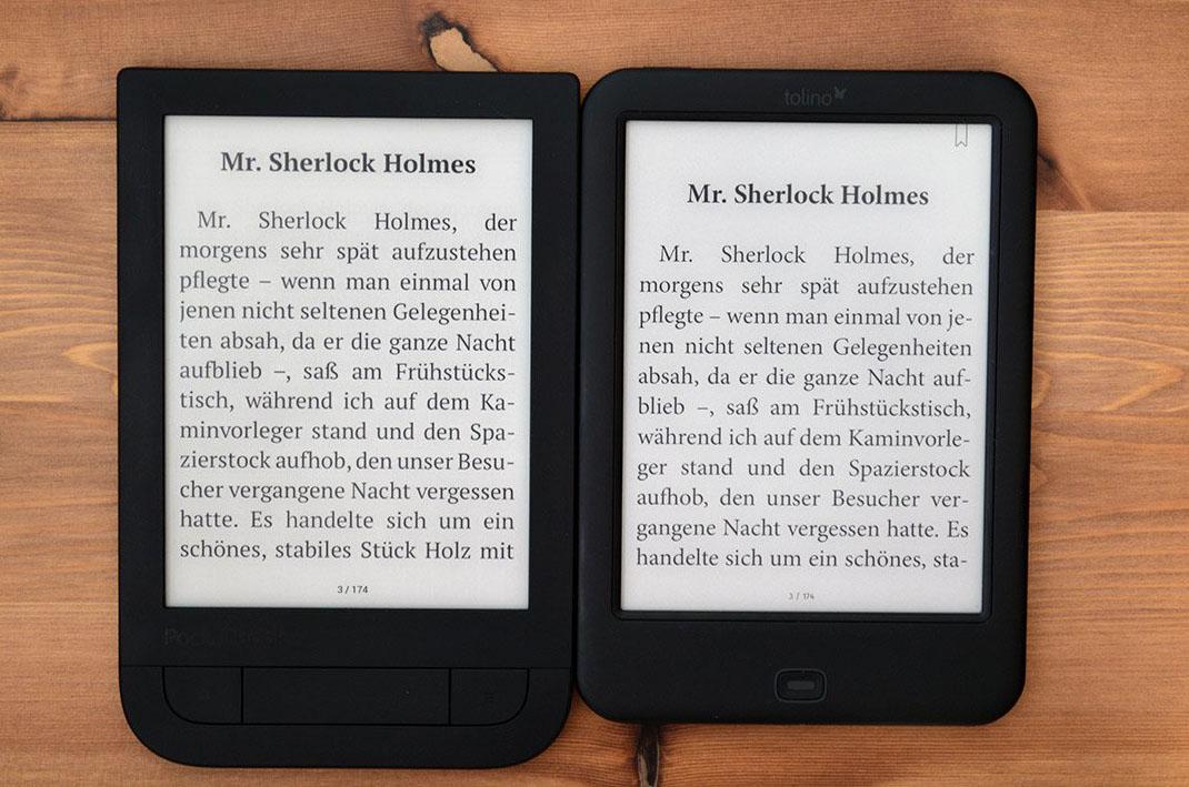 Pocketbook 631 Touch HD porównanie