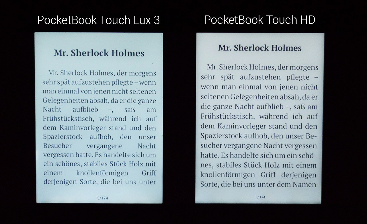 Pocketbook 631 Touch HD tryb nocny