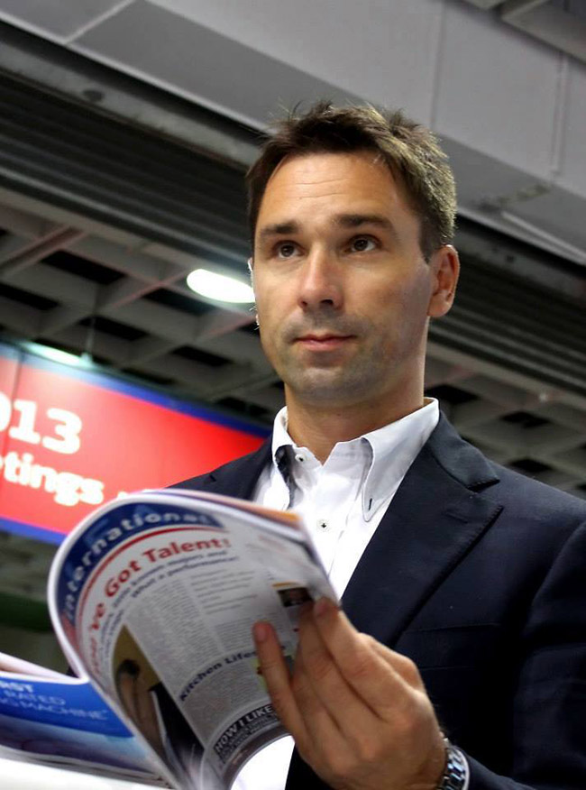 Evgeniy Zaitsev, szef sprzedaży  w Pocketbook, e-book, czytniki książek