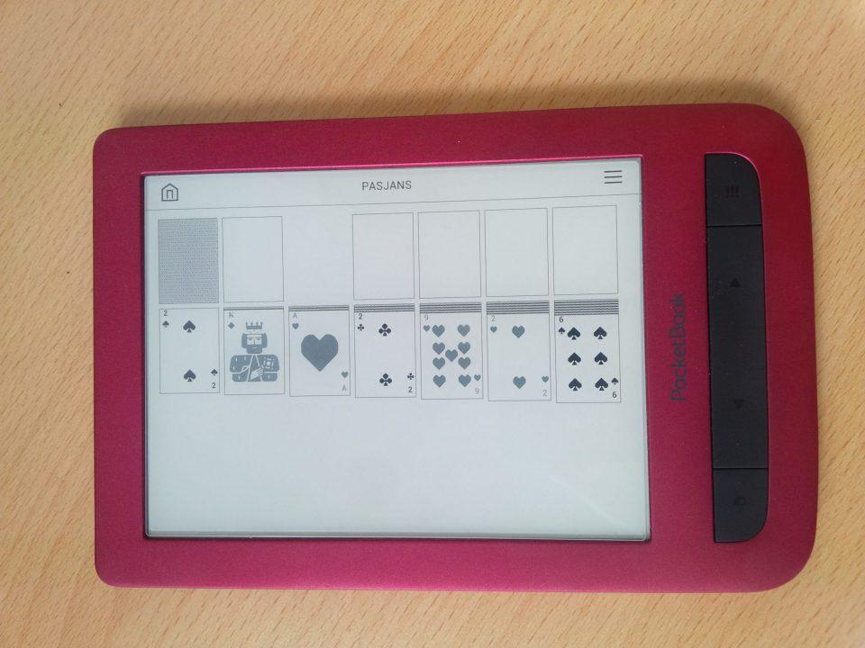 czytnik ebook8 cali PocketBook Touch, czytnik na książki