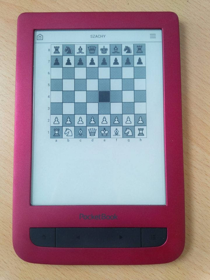 PocketBook Touch czytnik ebook8 cali, czytnik na książki