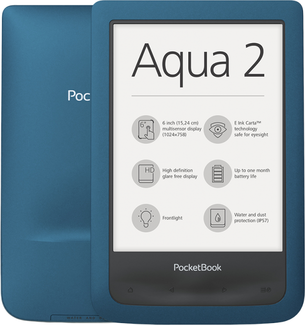 Czytnik e-book, PocketBook Aqua 2, ebook,