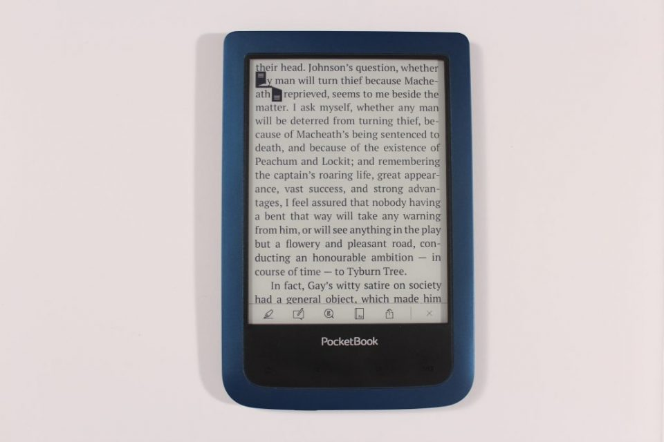 PocketBook Aqua2. e-reader, czytnik książek, ebook, e-book