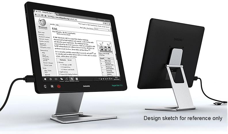 dasung, monitor do laptopa, e-papier