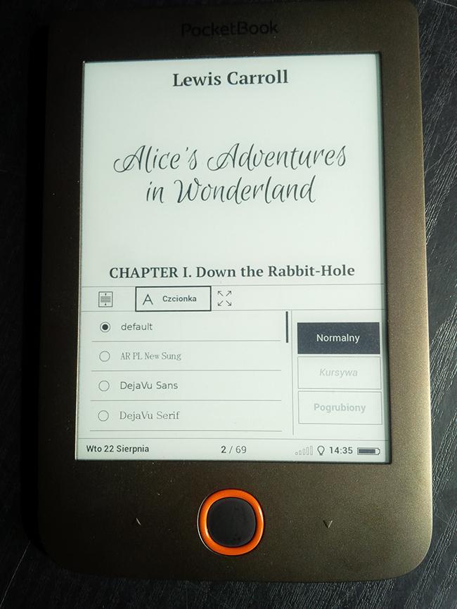 PocketBook Basic Lux, czytnik e-book, czytanie książek, czytanie e-book