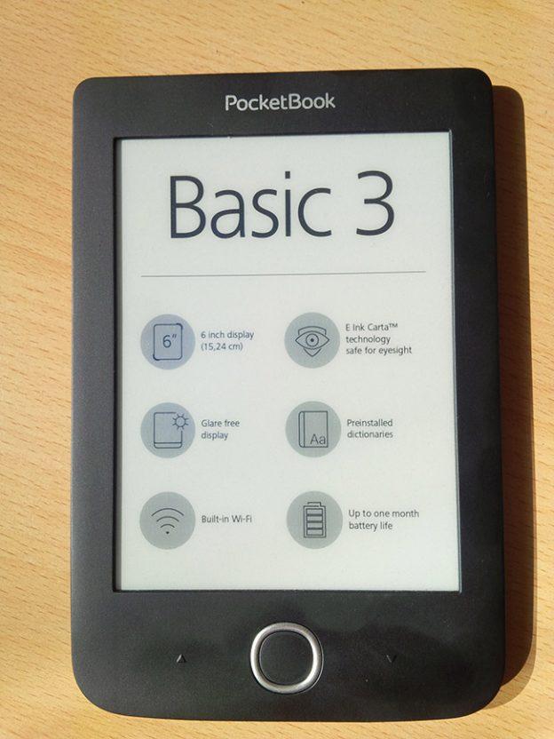 Czytnik PocketBook Basic 3, czytnik książek, e-book