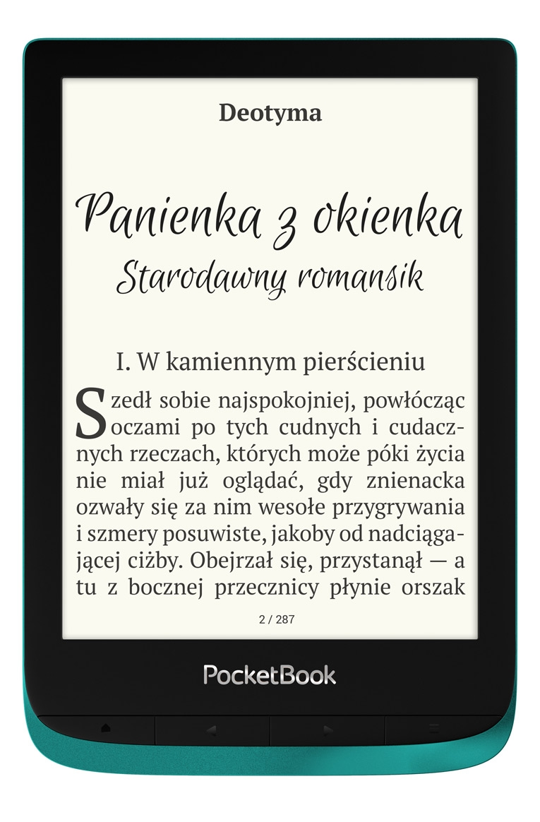 czytnik e-booków pocketbook touch lux 4