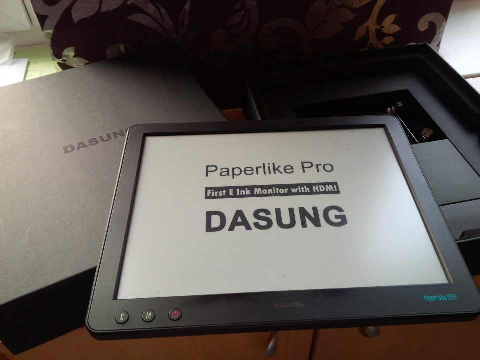 dasung, PaperLike Pro, czytnik e-booków, ebook, ebook reader, monitor, monitor do komputera,