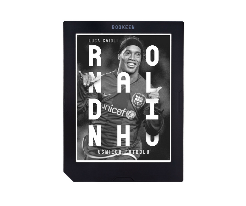 Luca Caioli, Barbara Bardadyn, Ronaldinho. Uśmiech futbolu, piłkarz, ebook, e-book, bibligrafia,