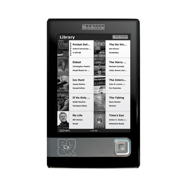 Cybook_gen1 czytnik ebooków, ebooki, kindle, pocketbook, czytnik do czytania książek, czytnik, e-book, elektorniczne książki