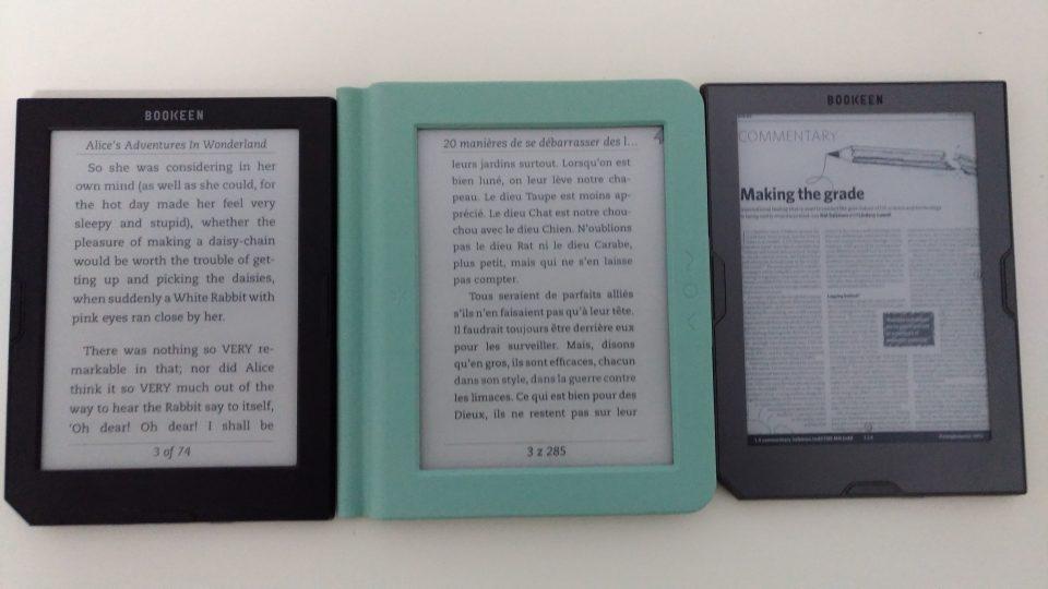 Bookeen Saga, Cybook Muse HD, Cybook Muse Light, czytnik książek, ebook reader pdf, ebook reader , Bookeen Saga, czytnik ebooków, czytnik ebooków z podświetleniem, frontlight, ebook, czytnik książek elektronicznych, jaki czytnik ebookow,  Opakowanie, Bookeen Saga. Książka.