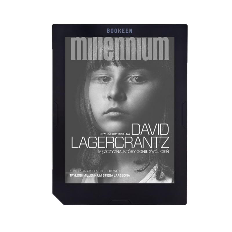 Lagercrantz David - Millennium. Tom 5. Mężczyzna, który gonił swój cień, ebook, książka, pozycja, perełka roku, bestseller, Cybook Muse HD