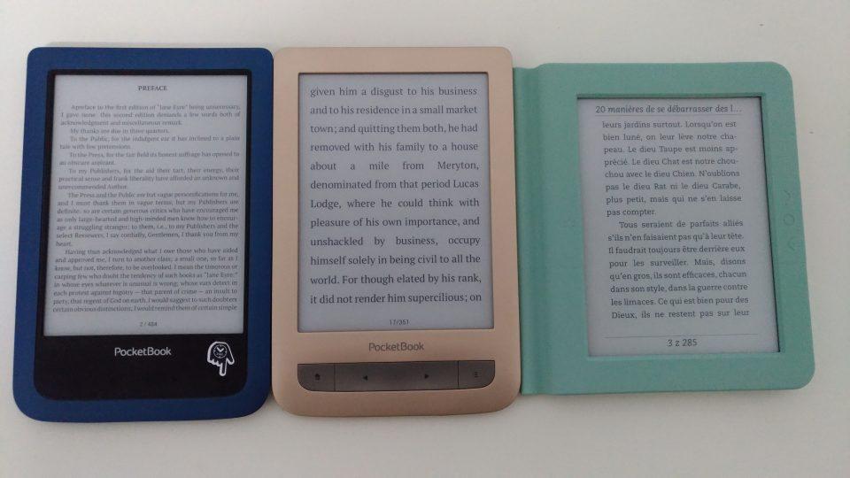 PocketBook Aqua 2, PocketBook Touch Lux 3 czytnik książek, ebook reader pdf, ebook reader , Bookeen Saga, czytnik ebooków, czytnik ebooków z podświetleniem, frontlight, ebook, czytnik książek elektronicznych, jaki czytnik ebookow,  Opakowanie, Bookeen Saga. Książka.
