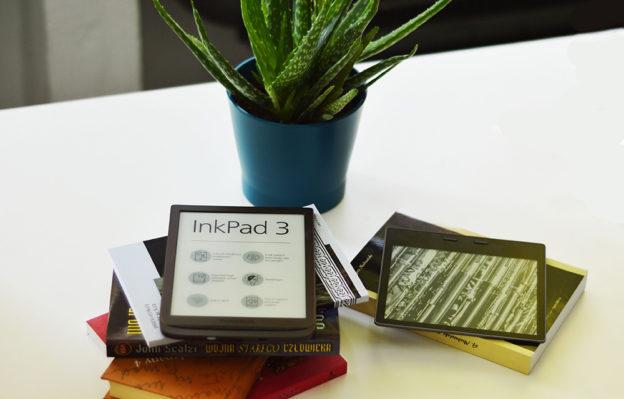Porównanie czytników Pocketbook Ink Pad 3 i Kindle Oasis 2