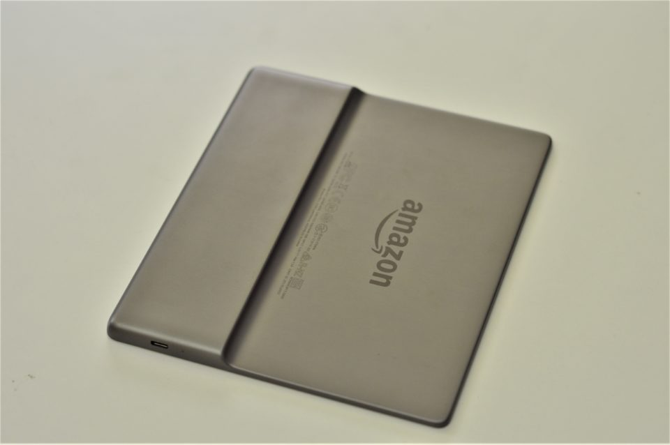 Kindle Oasis 2 od tyłu