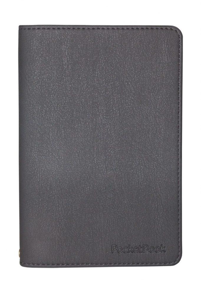 Czarne etui z ekoskóry na PocketBook 631 Touch HD