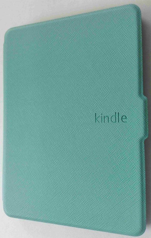 Etui na Kindle Touch 8 niebieskie lato mietowe dla kobiet