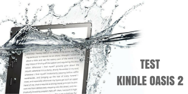 Test czytnika Kindle Oasis 2.