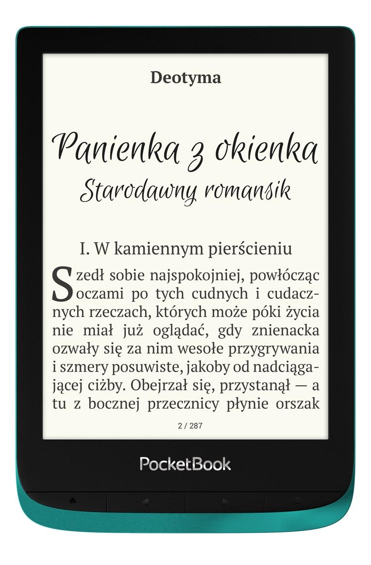 pocketbook touch lux 4 szmaragd