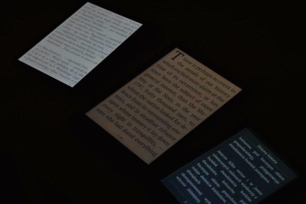 Czytniki podczas nocnego czytania