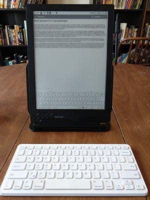 Czytnik Onyx Boox Max 2 klawiatura Bluetooth