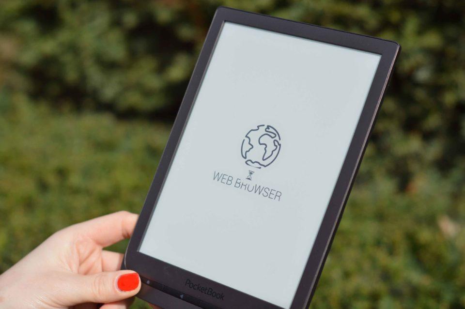 Przeglądarka internetowa PocketBook InkPad 3