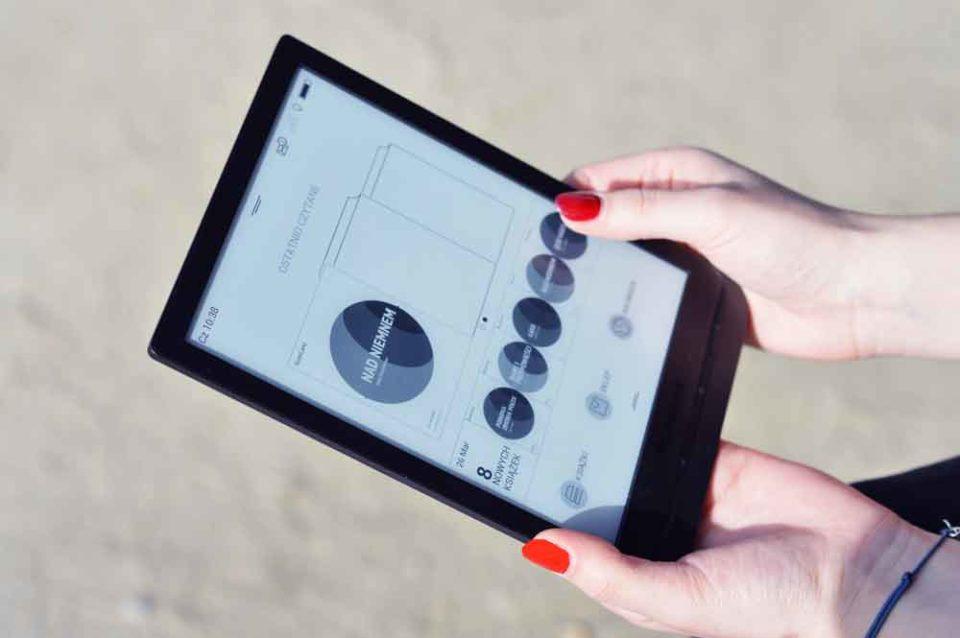 Biblioteka w czytniku PocketBook InkPad 3