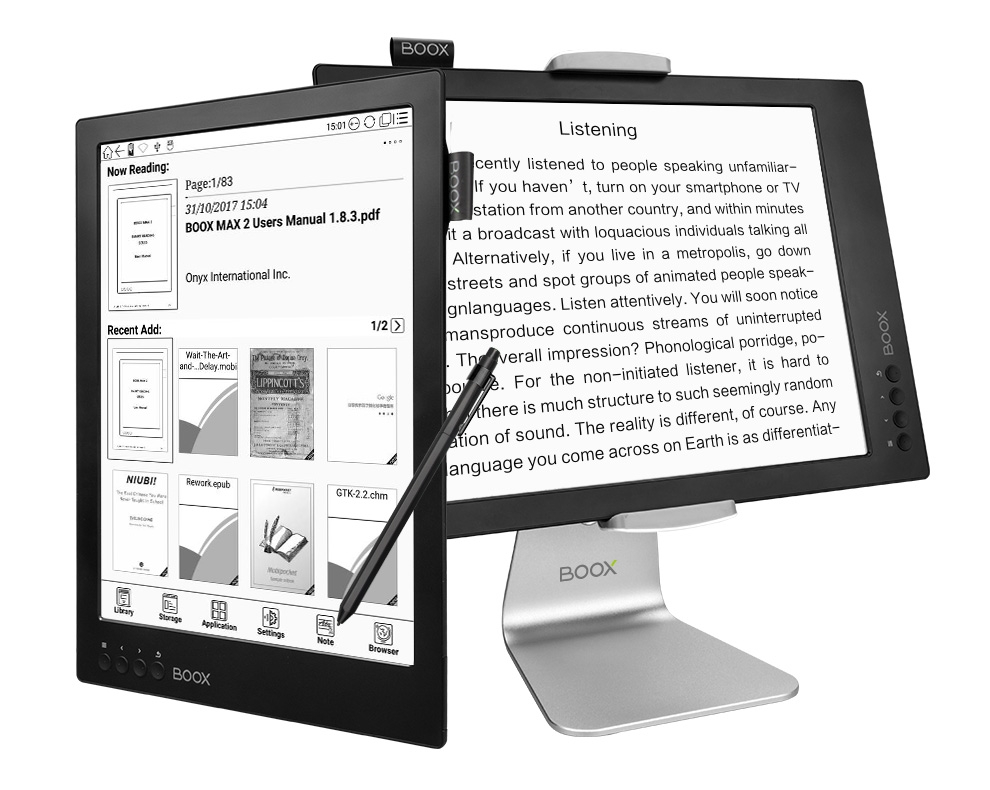 Najlepszy czytnik do PDF onyx boox max 2