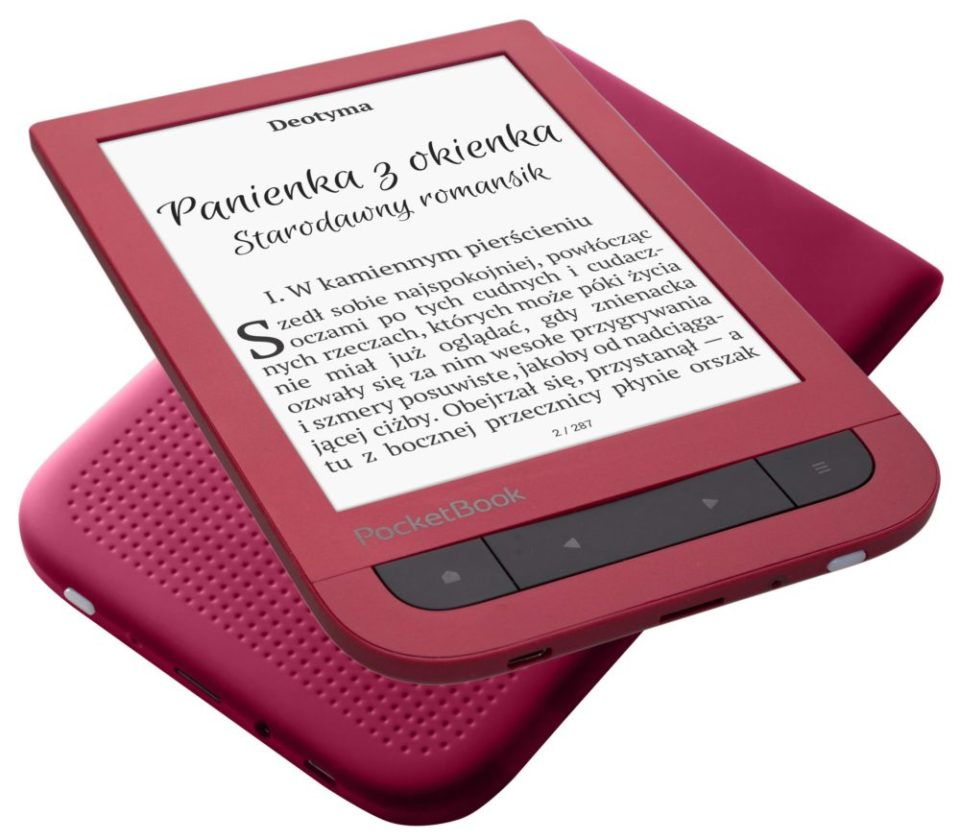 PocketBook Touch HD 2 Ruby Red na prezent