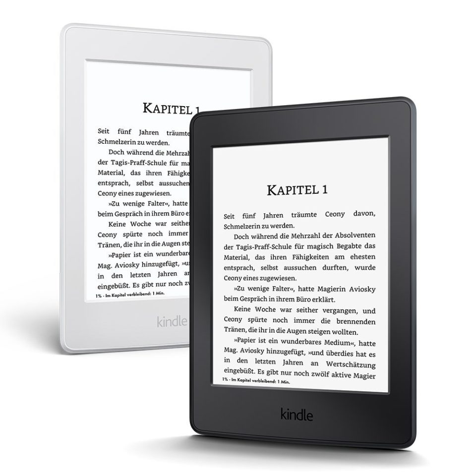 Kindle Paperwhite 3 bez reklam na komunię na dzień dziecka prezent