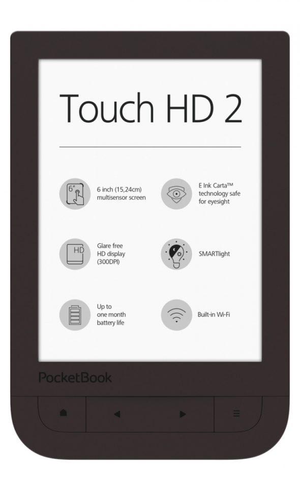 PocketBook Touch HD 2 nieszkodliwy dla oczu.
