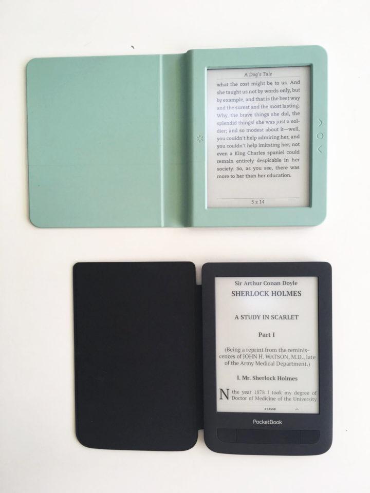 Booken Saga PocketBook BasicTouch 2 Save&Safe porównanie czytników ekrany i etui