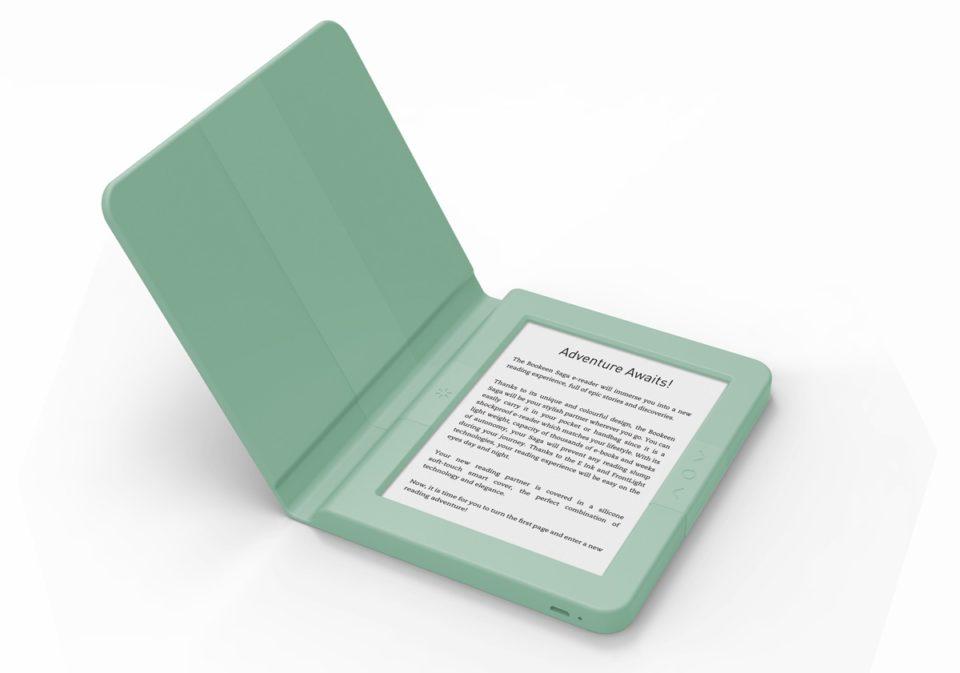 Bookeen Saga oryginalny czytnik z integralną okładką