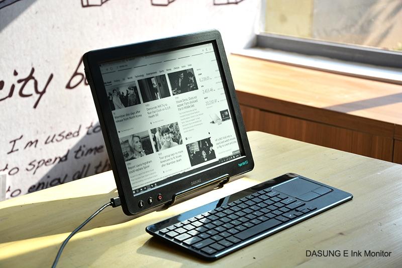 monitor z ekranem e-ink dasung paperlike p;ro
