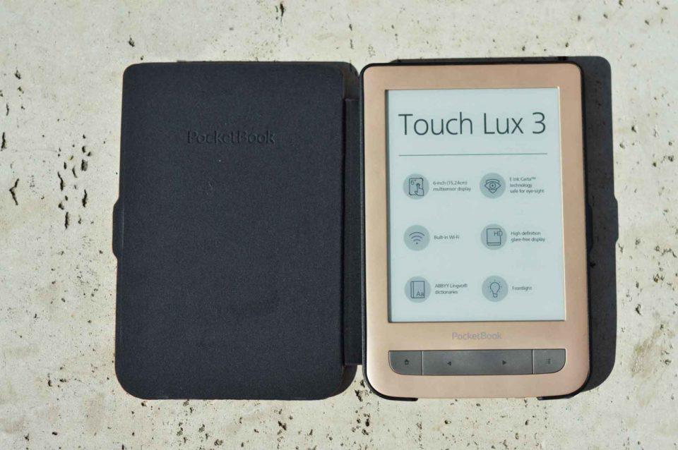 Etui Shell szare do czytników PocketBook 615 Basic Lux, PocketBook Basic 3, PocketBook Basic Touch oraz PocketBook 626(2) Touch Lux 3