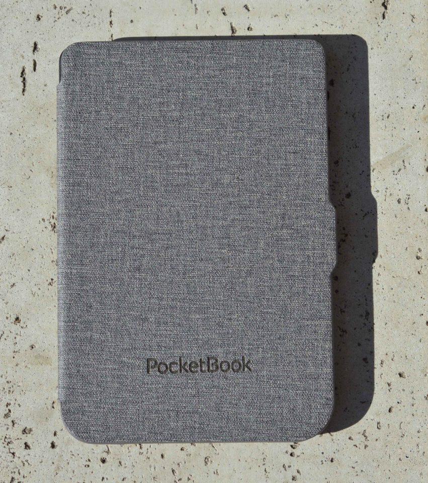 Etui do czytnika PocketBook 615 Basic Lux, PocketBook Basic 3, PocketBook Basic Touch oraz PocketBook 626(2) Touch Lux 3 w kolorze szarym od przodu
