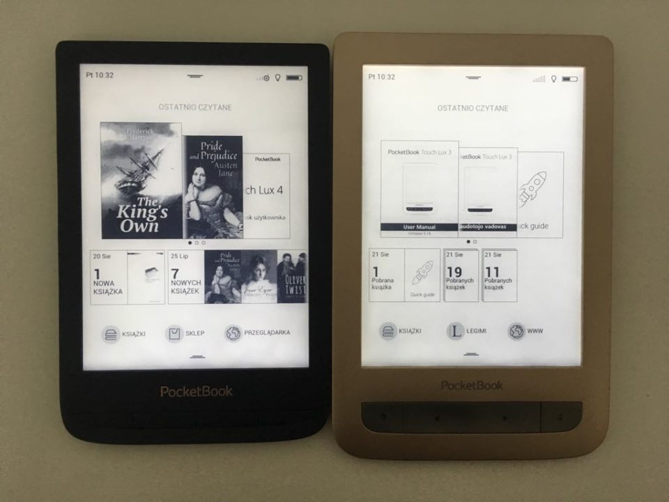 pocketbook lux 4 lux 4 ekran główny