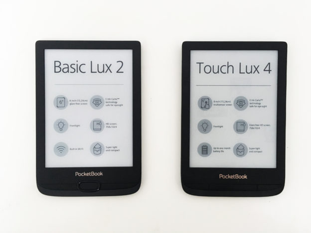 touch lux 4 i basic lux 2 pocketbook przód