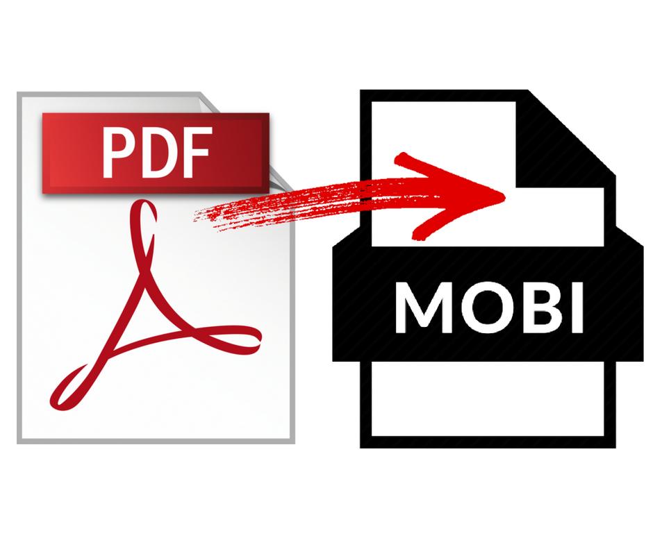 konwersja ebooka z pdf to mobi kindle