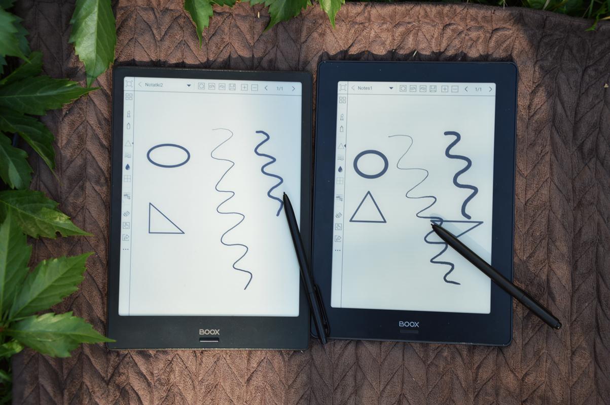 Onyx Boox Note S Onyx Boox Note notowanie w notatniku