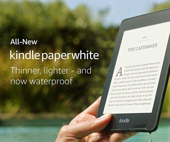 Czytnik e-booków Kindle Paperwhite 4 odporny na wdoę