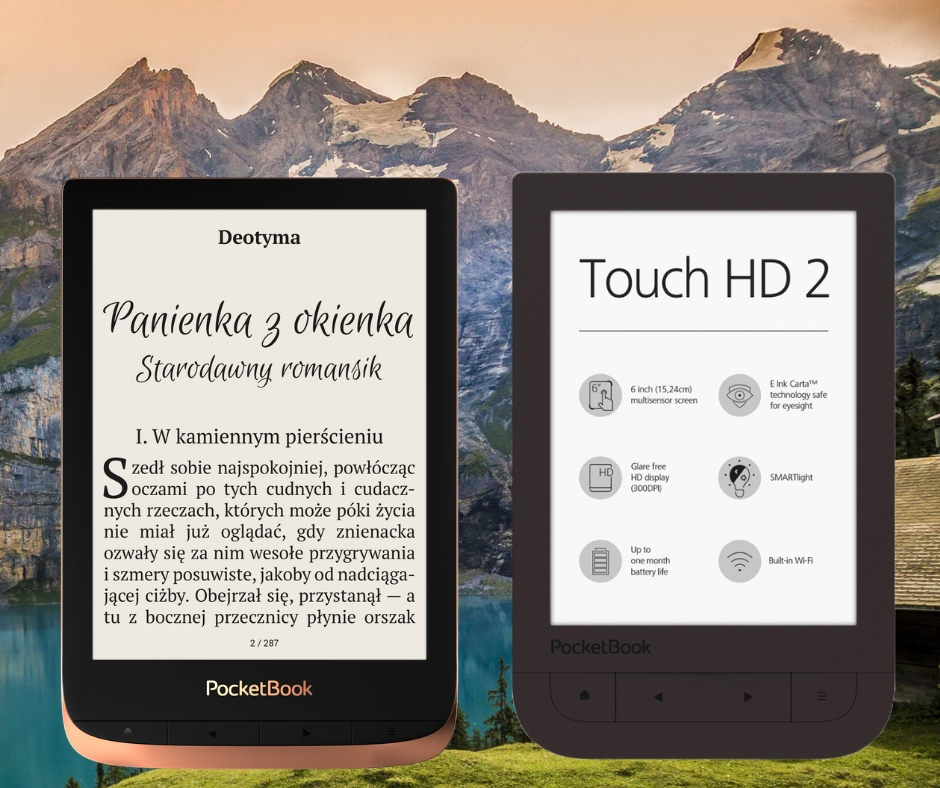 nowy pocketbook HD 3 kontra Pocketbook HD 2.