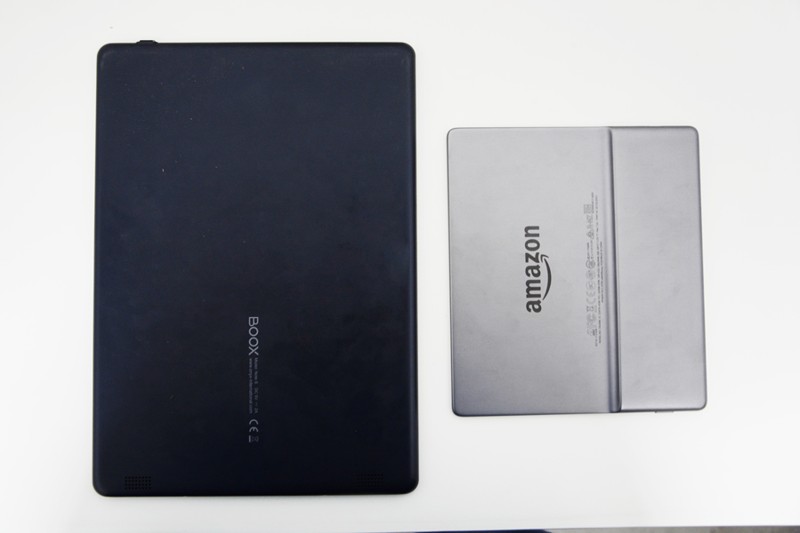 Kindle Oasis 2 Onyx Boox Note s tył