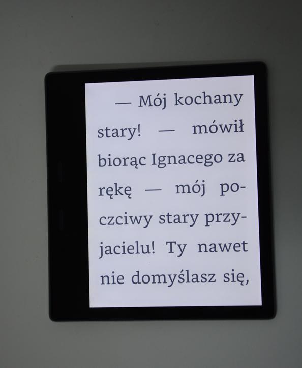 Kindle Oasis 2 podświetlenie